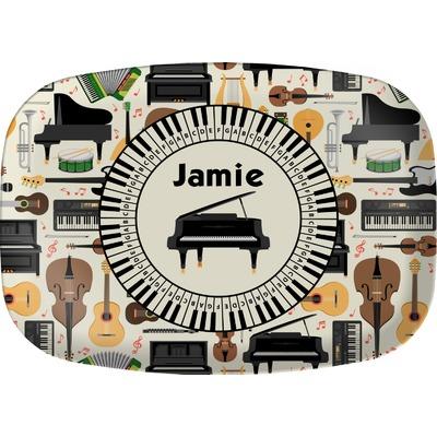 Musical Instruments Melamine Platter (Personalized)