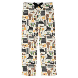 Musical Instruments Mens Pajama Pants (Personalized)