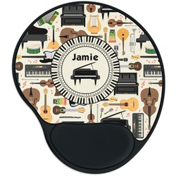 Musical Instruments Mouse Pad with Wrist Support