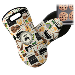 Musical Instruments Neoprene Oven Mitt (Personalized)