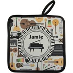 Musical Instruments Pot Holder w/ Name or Text