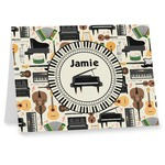 Musical Instruments Notecards (Personalized)