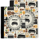 Musical Instruments Notebook Padfolio w/ Name or Text