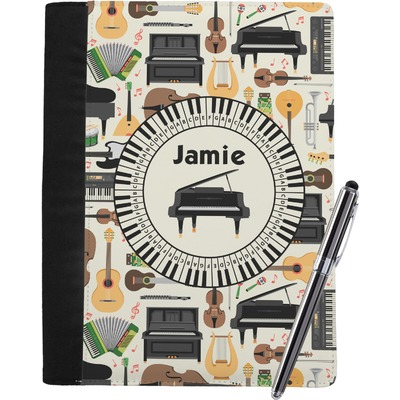 Musical Instruments Notebook Padfolio (Personalized)