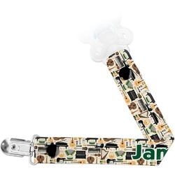 Musical Instruments Pacifier Clips (Personalized)