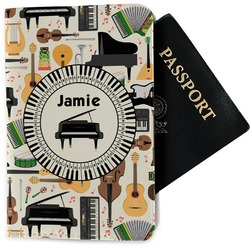 Musical Instruments Passport Holder - Fabric (Personalized)
