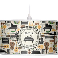 Musical Instruments Drum Pendant Lamp (Personalized)