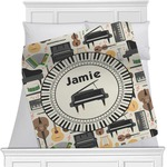 Musical Instruments Blanket (Personalized)