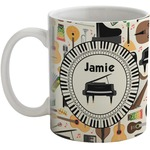 Musical Instruments Coffee Mug (Personalized)