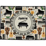Musical Instruments Door Mat (Personalized)