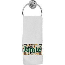 Musical Instruments Hand Towel (Personalized)