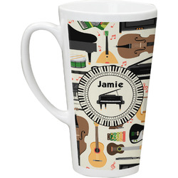 Musical Instruments Latte Mug (Personalized)