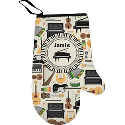 Musical Instruments Right Oven Mitt (Personalized)