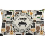 Musical Instruments Pillow Case (Personalized)