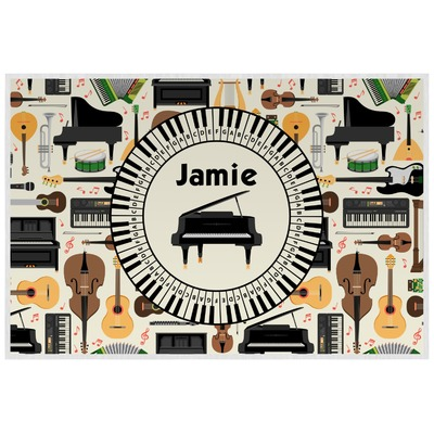 Musical Instruments Placemat (Laminated) (Personalized)