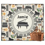 Musical Instruments Outdoor Picnic Blanket (Personalized)