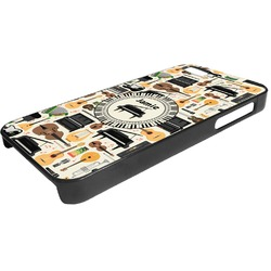 Musical Instruments Plastic iPhone 5/5S Phone Case (Personalized)
