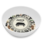 Musical Instruments Melamine Bowl 8oz (Personalized)
