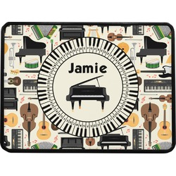 Musical Instruments Rectangular Trailer Hitch Cover (Personalized)