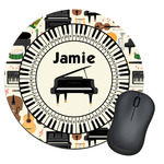 Musical Instruments Round Mouse Pad (Personalized)