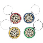 Musical Instruments Wine Charms (Set of 4) (Personalized)