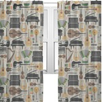Musical Instruments Sheer Curtains (Personalized)