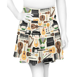 Musical Instruments Skater Skirt (Personalized)