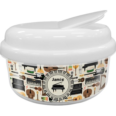 Musical Instruments Snack Container (Personalized)