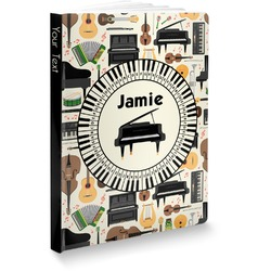 Musical Instruments Softbound Notebook (Personalized)