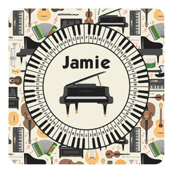 Musical Instruments Square Decal - Custom Size (Personalized)