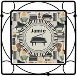 Musical Instruments Square Trivet (Personalized)