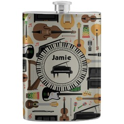 Musical Instruments Stainless Steel Flask (Personalized)