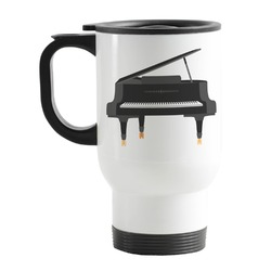 Musical Instruments Stainless Steel Travel Mug with Handle
