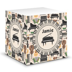 Musical Instruments Sticky Note Cube (Personalized)