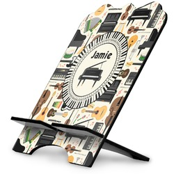 Musical Instruments Stylized Tablet Stand (Personalized)