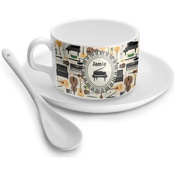 Musical Instruments Tea Cups (Personalized)
