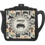 Musical Instruments Teapot Trivet (Personalized)