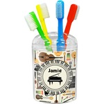 Musical Instruments Toothbrush Holder (Personalized)