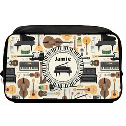 Musical Instruments Toiletry Bag / Dopp Kit (Personalized)