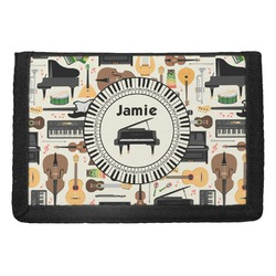 Musical Instruments Trifold Wallet (Personalized)