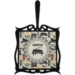 Musical Instruments Trivet with Handle (Personalized)