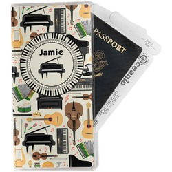 Musical Instruments Travel Document Holder