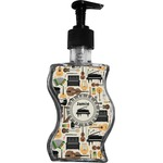 Musical Instruments Wave Bottle Soap / Lotion Dispenser (Personalized)