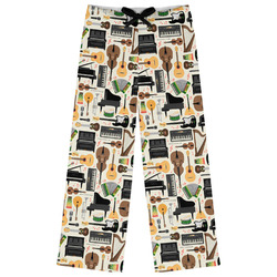Musical Instruments Womens Pajama Pants (Personalized)