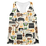 Musical Instruments Womens Racerback Tank Top (Personalized)