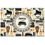 Musical Instruments Woven Mat (Personalized)