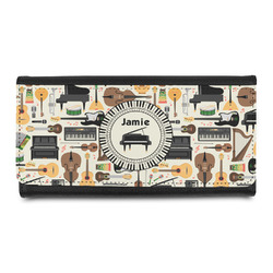 Musical Instruments Leatherette Ladies Wallet (Personalized)