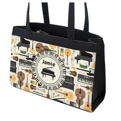 Musical Instruments Zippered Everyday Tote (Personalized)