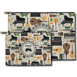 Musical Instruments Zipper Pouch (Personalized)