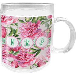 Watercolor Peonies Acrylic Kids Mug (Personalized)
